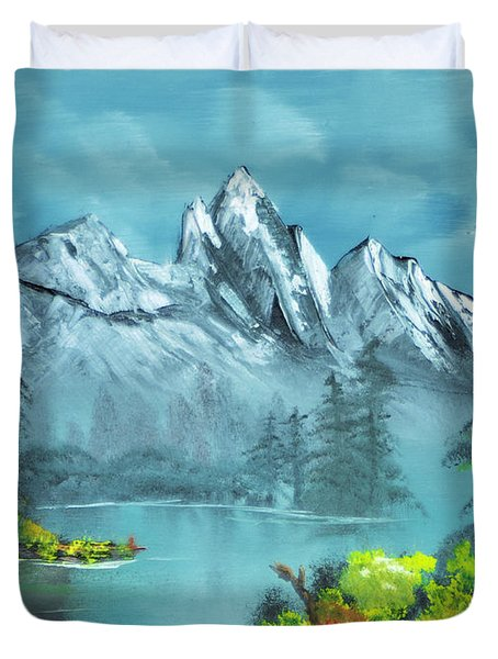 Mountain Retreat Duvet Cover