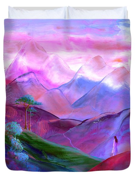 Mountain Reverence Duvet Cover