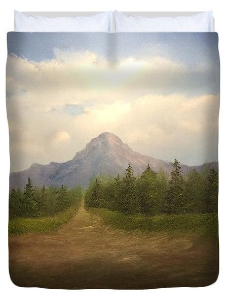 Mountain Run Road  Duvet Cover