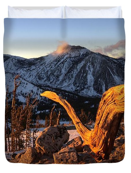 Mountain Snake Duvet Cover