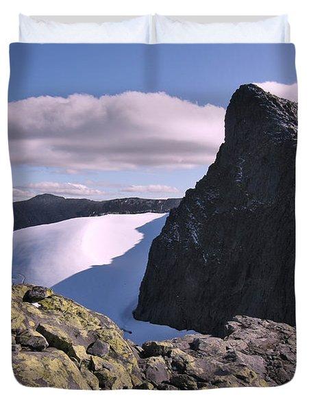 Mountain Summit Ridge Duvet Cover