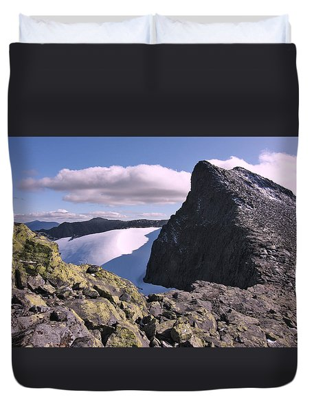 Mountain Summit Ridge Duvet Cover