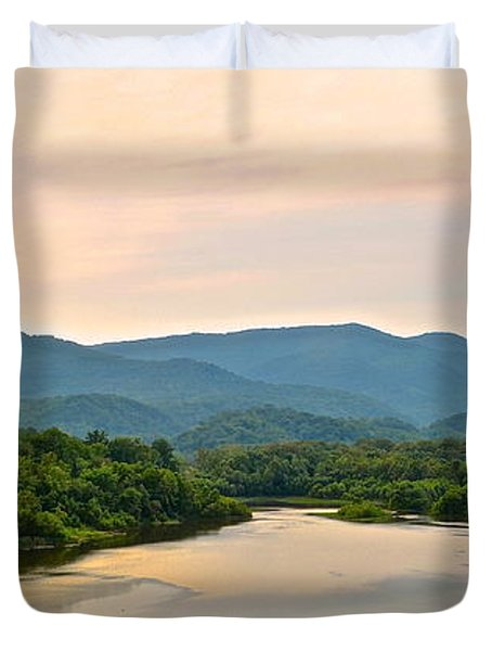 Mountain View Duvet Cover by Frozen in Time Fine Art Photography