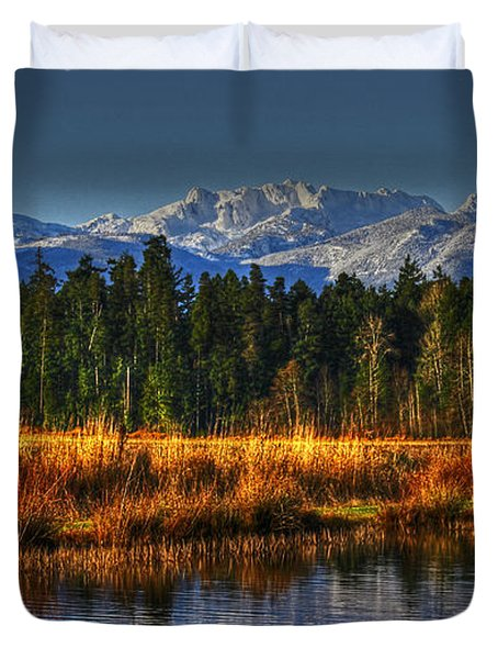 Mountain Vista Duvet Cover by Randy Hall