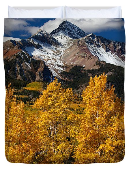 Mountainous Wonders Duvet Cover