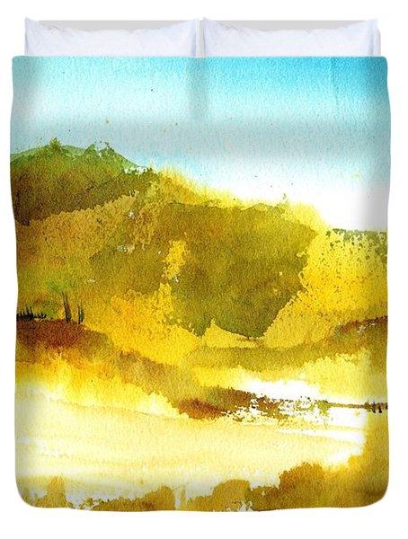 Mountan Desert Duvet Cover