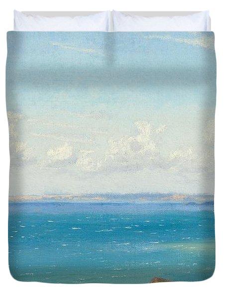 Mount's Bay C1899 Duvet Cover by Arthur Hughes