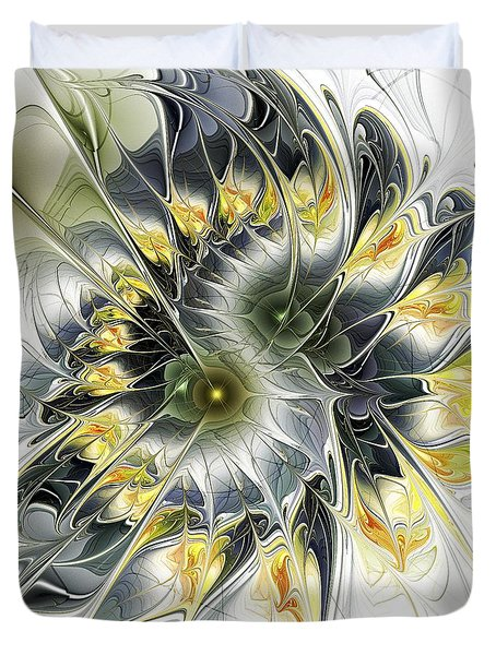 Movement Duvet Cover by Anastasiya Malakhova