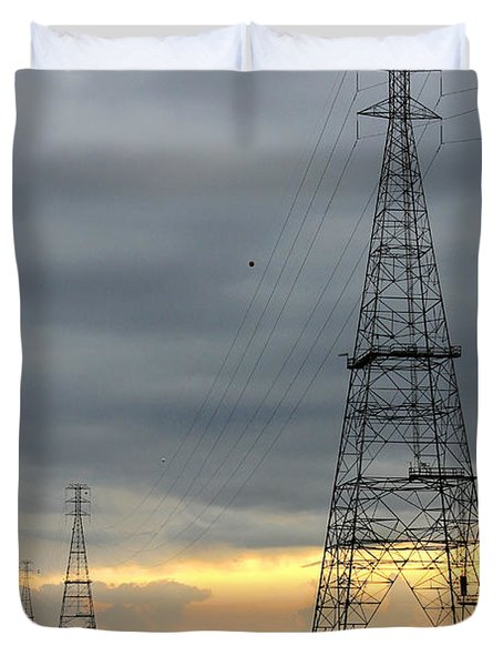 Moving Power Duvet Cover by Mike McGlothlen