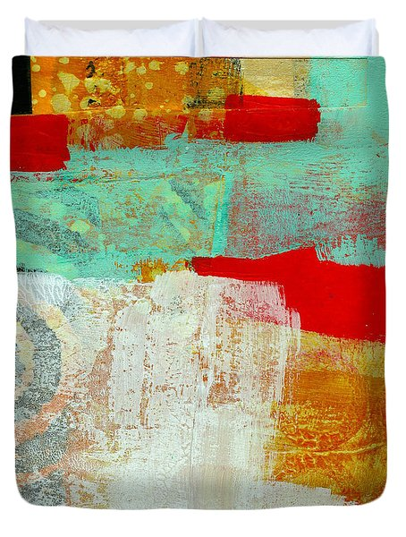 Moving Through 24 Duvet Cover by Jane Davies