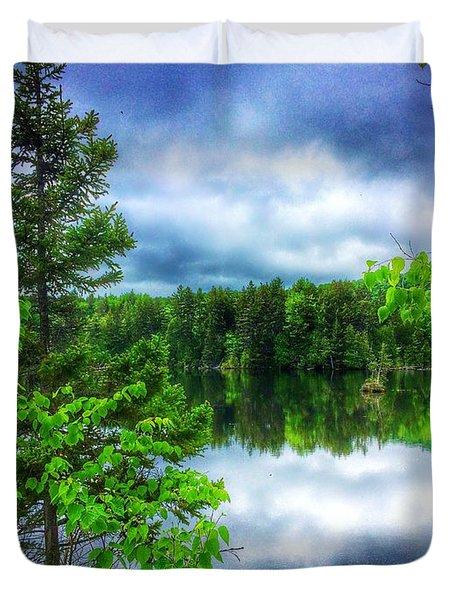 Moxie Pond Duvet Cover