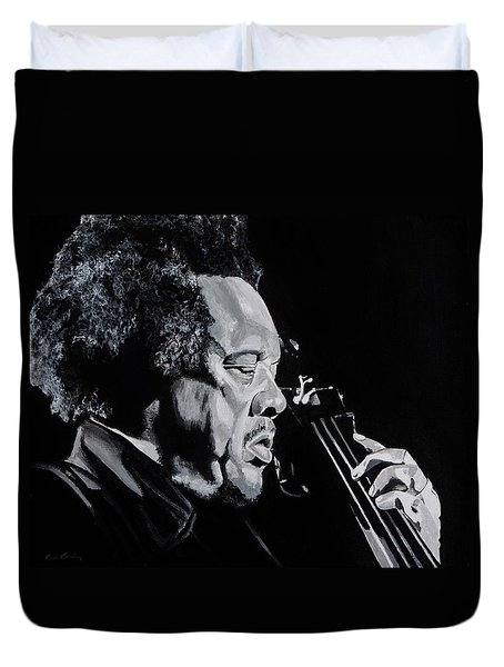 Mr Mingus Duvet Cover by Brian Broadway