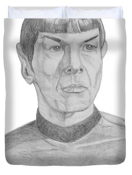 Mr. Spock Duvet Cover