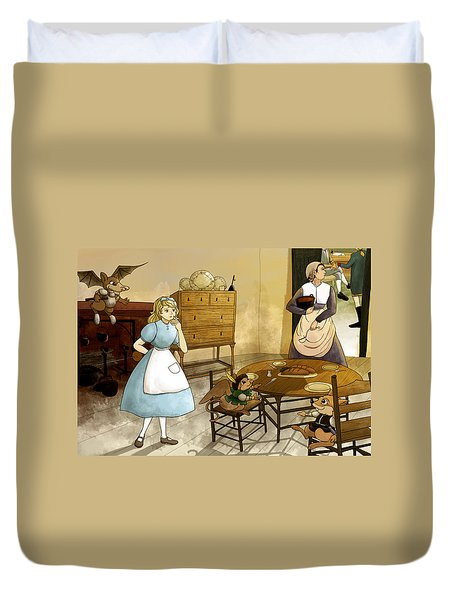 Mrs. Gage's Kitchen Duvet Cover
