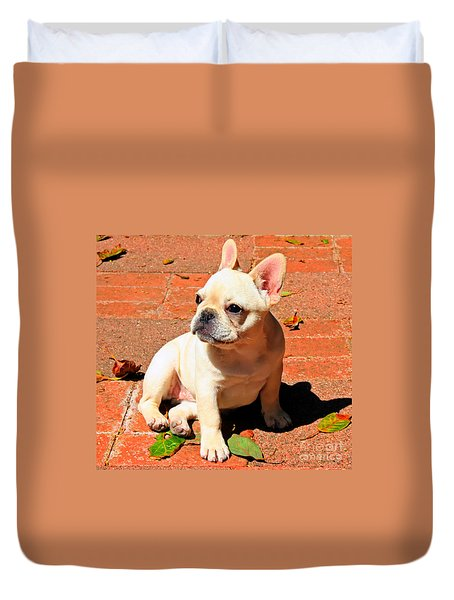 Ms. Quiggly Duvet Cover