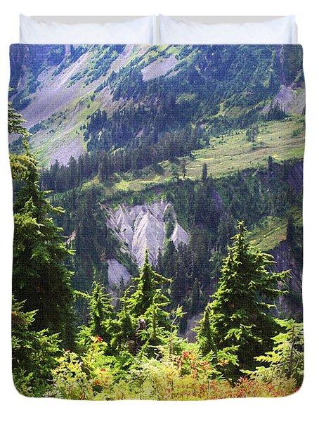 Mt. Baker Washington Duvet Cover