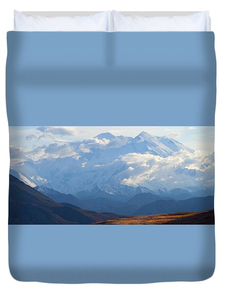 Mt. Denali Duvet Cover by Ann Lauwers