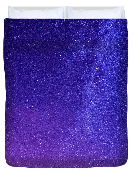 Mt. Hood Milky Way 01 Duvet Cover