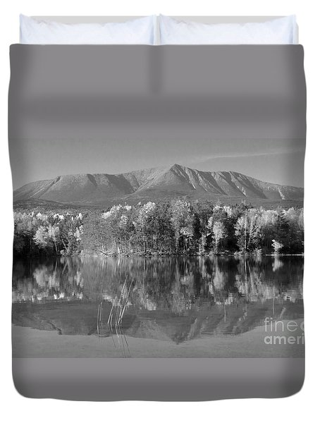 Mt Katahdin Baxter State Park Fall Duvet Cover