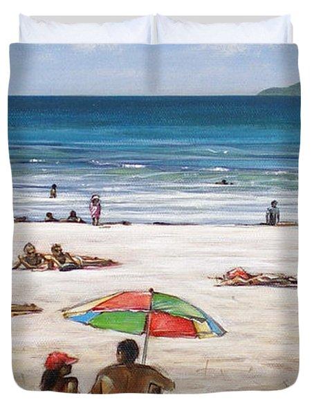 Mt Maunganui Beach 090209 Duvet Cover