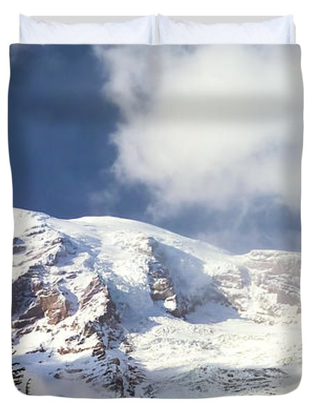 Mt Rainier II Duvet Cover