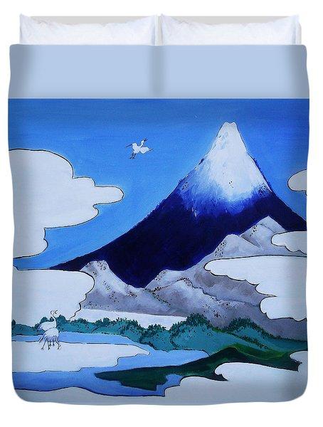 Mt.fuji Duvet Cover