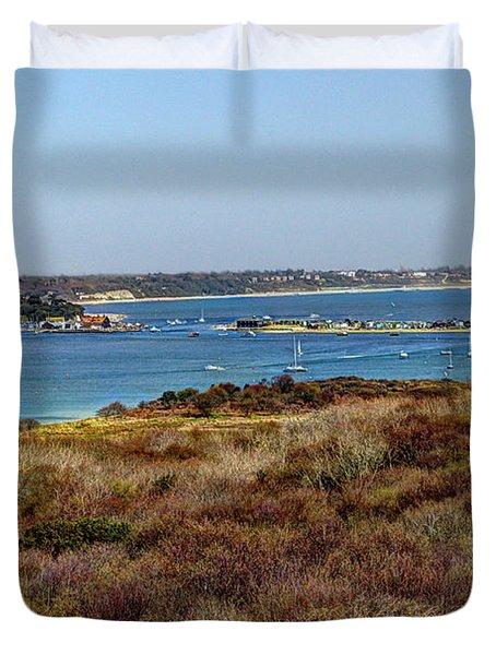 Mudeford Harbour Duvet Cover