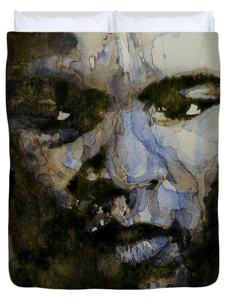 Muhammad Ali  A Change Is Gonna Come Duvet Cover