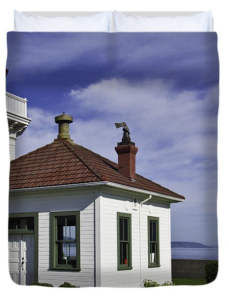 Mukilteo Lighthouse Duvet Cover