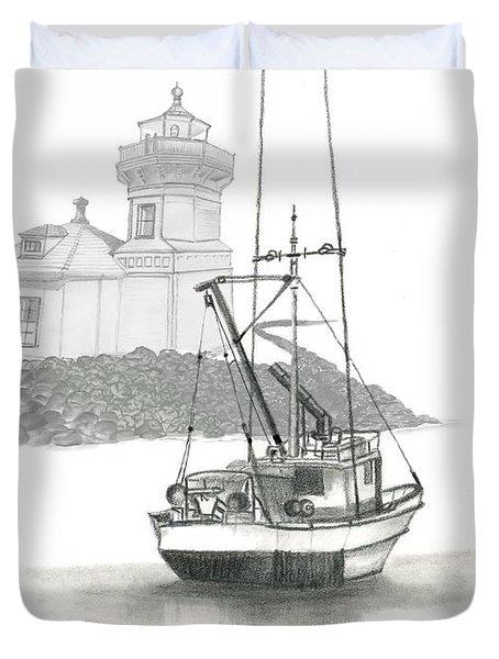 Mukilteo Lighthouse Duvet Cover