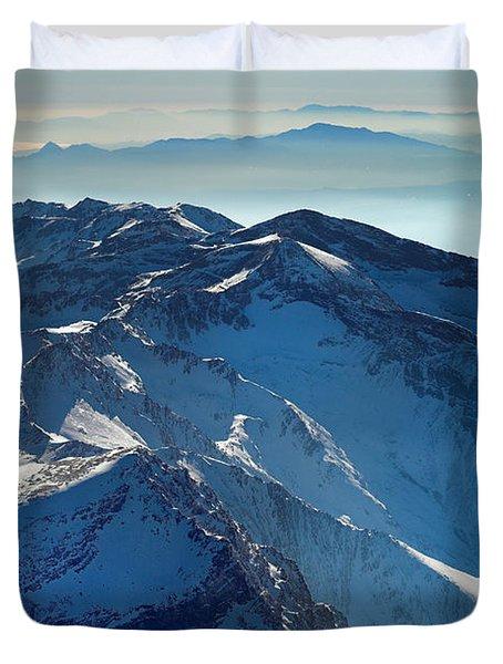 Mulhacen Duvet Cover by Guido Montanes Castillo