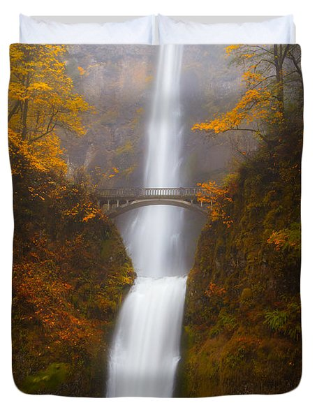 Multnomah Morning Duvet Cover