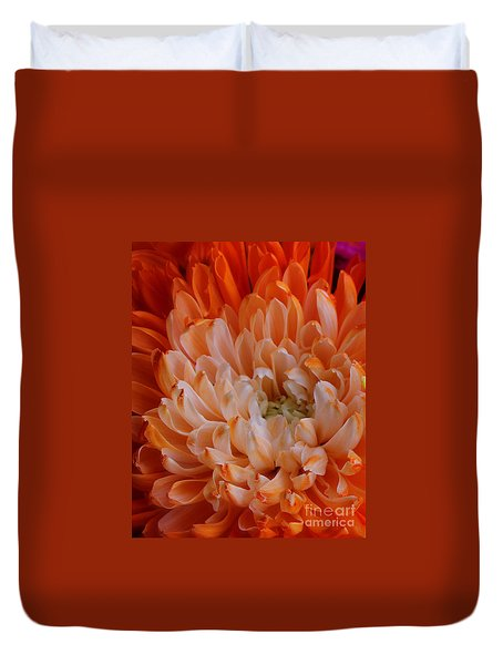 Mum On Fire Duvet Cover