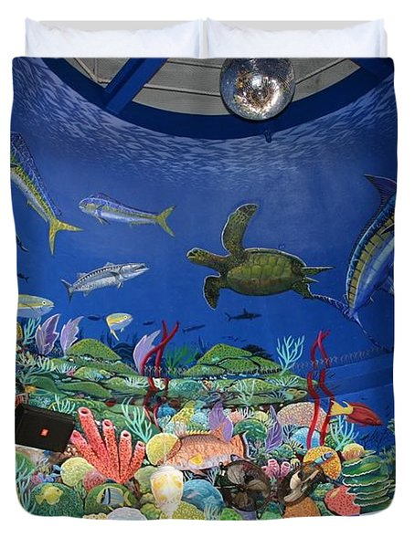 mural Decks  Duvet Cover