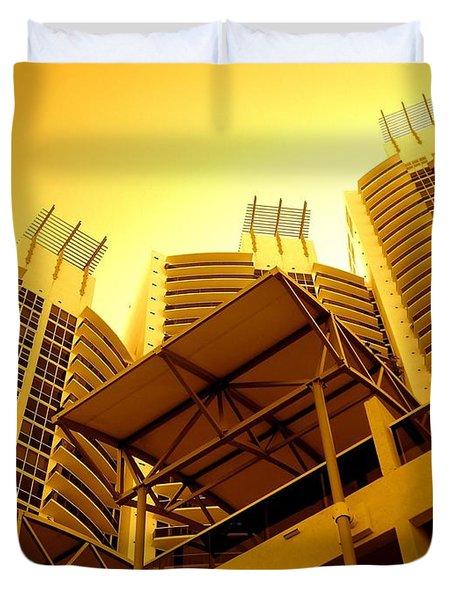 Murano Grande, Miami Duvet Cover