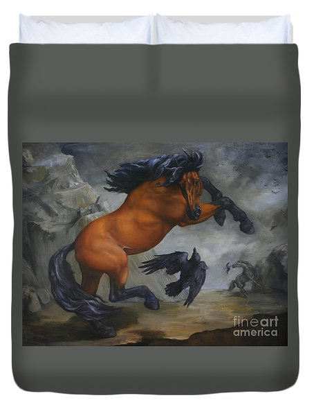 Murder Of Crows Duvet Cover