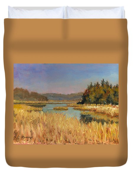 Murvale Creek Duvet Cover