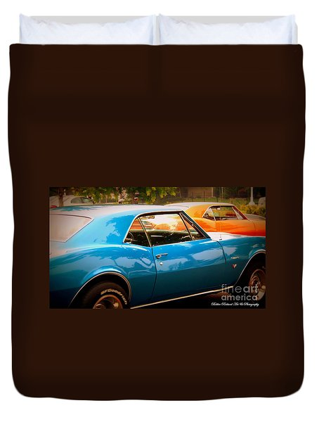 Muscle Duvet Cover