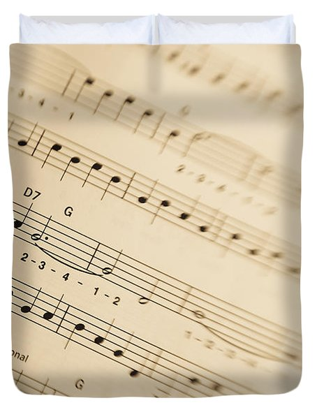 Music Duvet Cover by Alexey Stiop