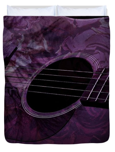Music Of The Roses Duvet Cover