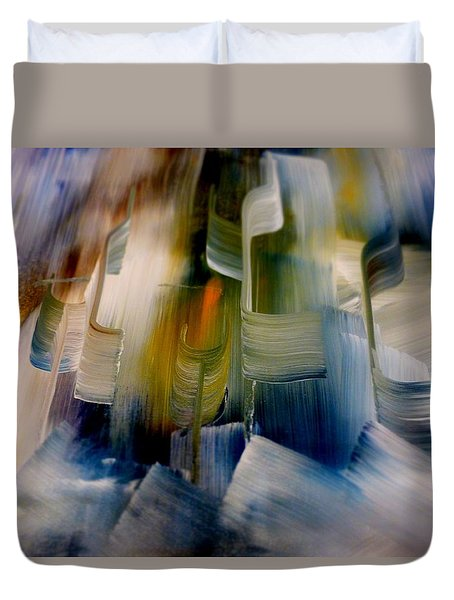 Music With Paint Duvet Cover