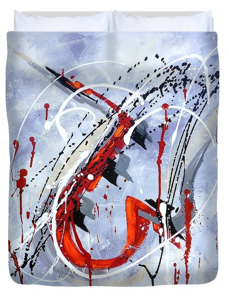 Musical Abstract 005 Duvet Cover
