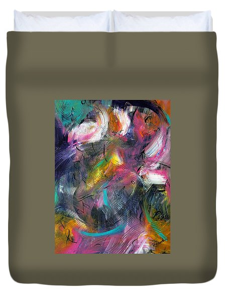 Musical Flow Duvet Cover