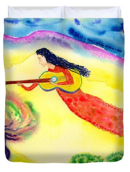 Musical Spirit 12 Duvet Cover