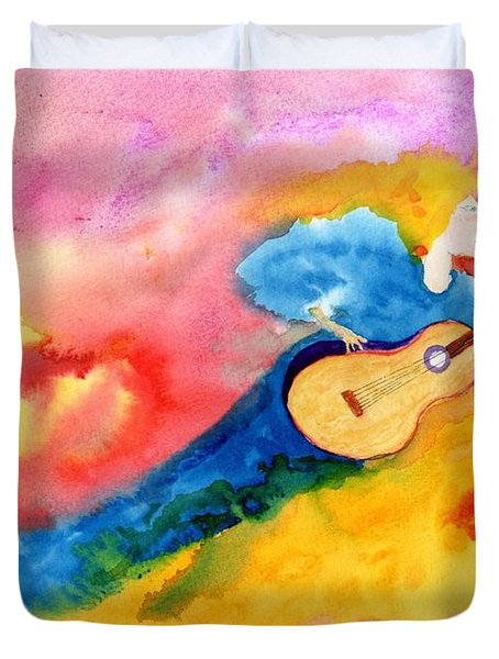 Musical Spirit 19 Duvet Cover