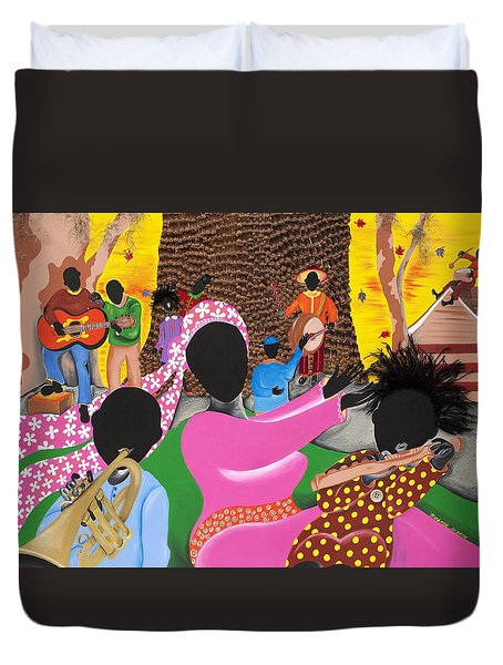 Music's Teachers Duvet Cover