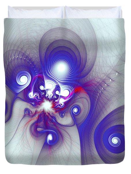 Mutant Octopus Duvet Cover by Anastasiya Malakhova