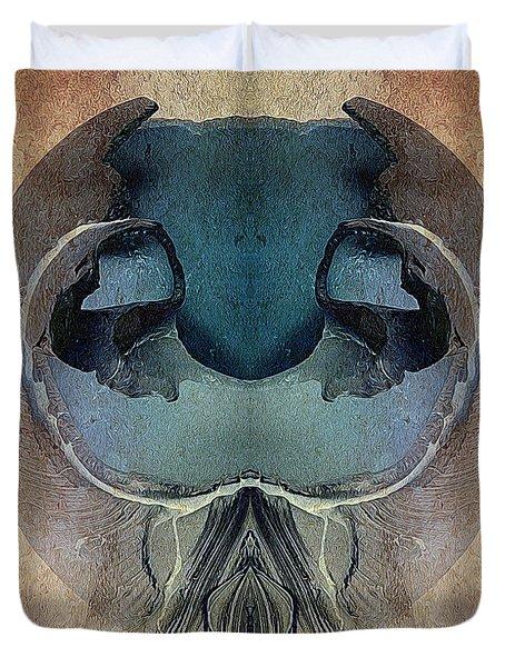 Mutation Duvet Cover by WB Johnston