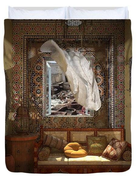 My Art In The Interior Decoration - Morocco - Elena Yakubovich Duvet Cover