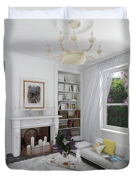 My Art In The Interior Decoration -venetian Balcony-  Elena Yakubovich Duvet Cover